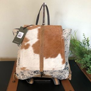 Handbags - Stalk Myra bag backpack / upcycled purse NWT